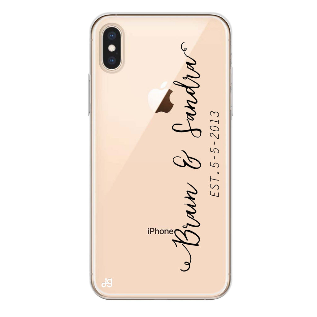 Memory iPhone XS Soft Clear Case