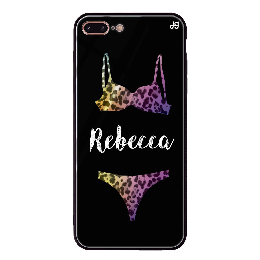 Lingerie Sets iPhone 8 Plus Glass Case