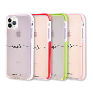 Slim Handwritten Shockproof Bumper Case
