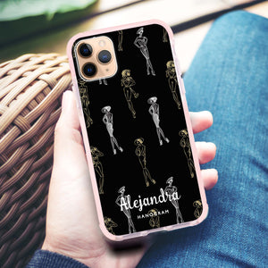 Elegant Girls Seamless Frosted Bumper Case