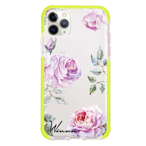 Classic Floral Frosted Bumper Case