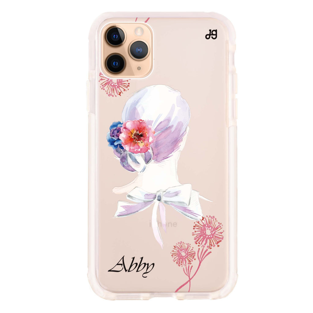 Floral Bride II iPhone 11 Pro Max Shockproof Bumper Case