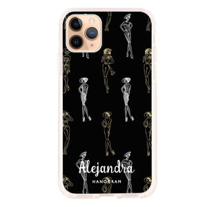Elegant Girls Seamless iPhone 11 Pro Max Frosted Bumper Case