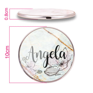 Floral Marble III Wireless Charger