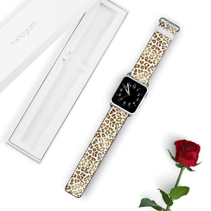 Golden Leopard APPLE WATCH BANDS