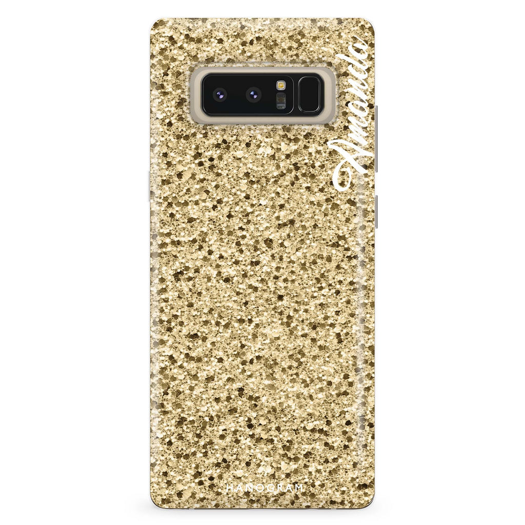 Golden Moment Samsung Note 8 Soft Clear Case