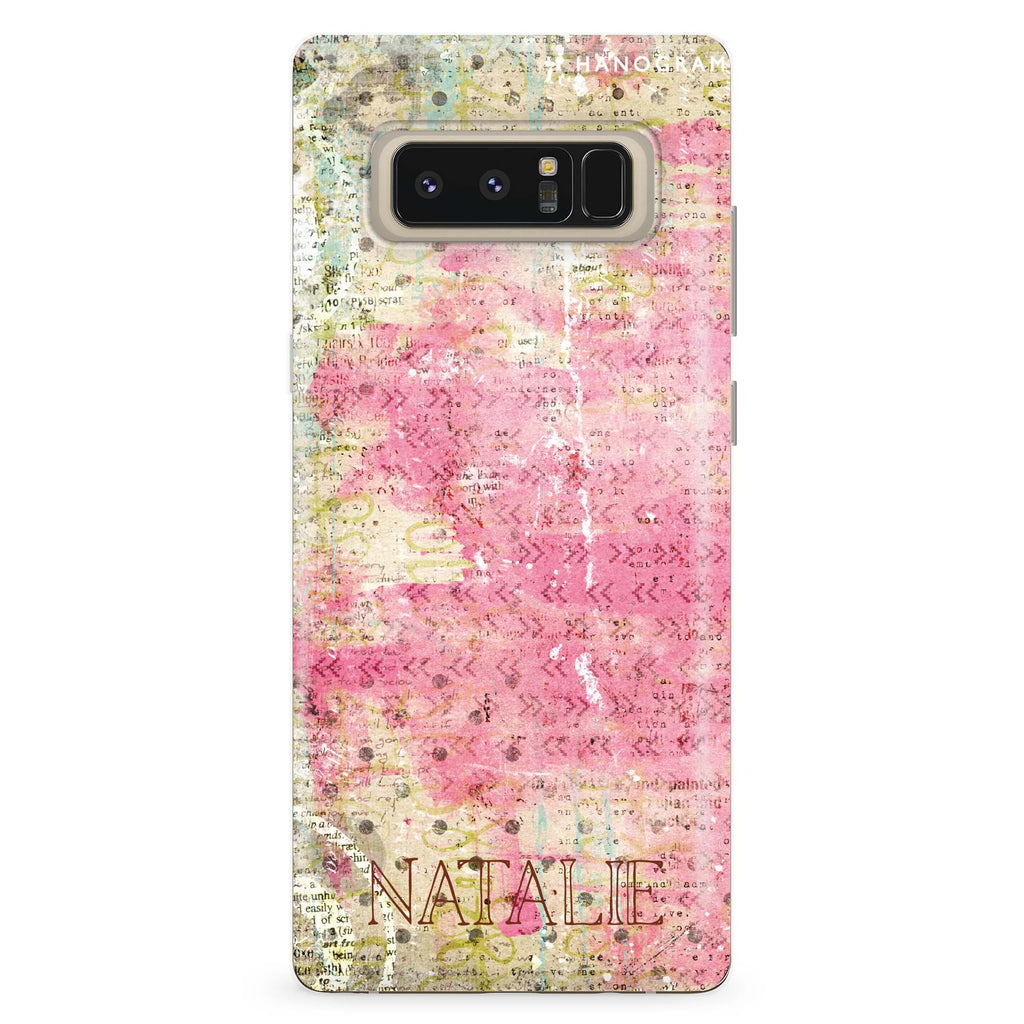 illusion Samsung Note 8 Soft Clear Case