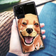 Golden Retriever Samsung Glass Case