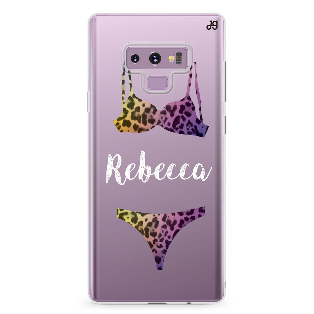 Lingerie Sets Samsung Note 9 Soft Clear Case