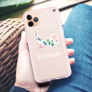 Floral Bra Frosted Bumper Case