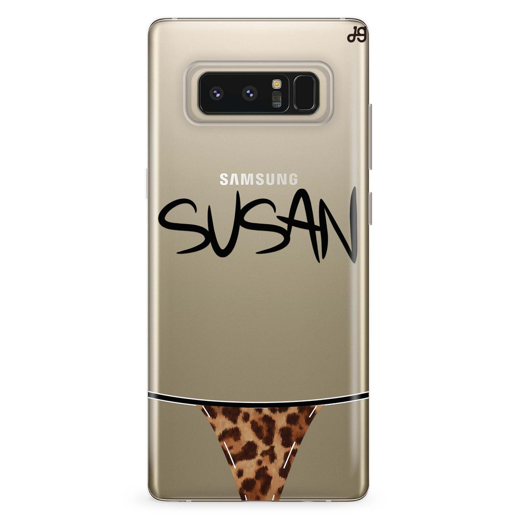 Sexy Lingerie Samsung Note 8 Soft Clear Case