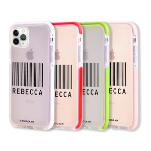 Barcode Frosted Bumper Case