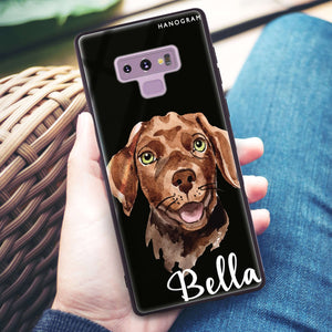 Dachshund Samsung Note 9 Glass Case