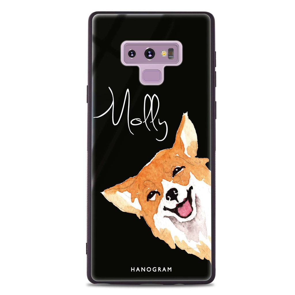 Welsh Corgi Samsung Note 9 Glass Case