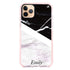 Black & White Marble Frosted Bumper Case