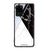 Black And White Marble Samsung Glass Case