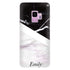 Black & White Marble Samsung S9 Soft Clear Case