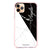 Black And White Marble Shockproof Bumper Case