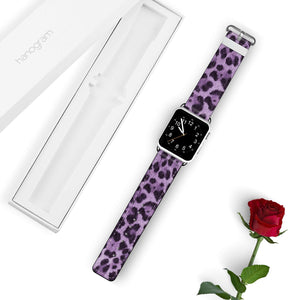 Purple Leopard APPLE WATCH BANDS