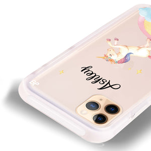 Rainbow Unicorn Unicorn Frosted Bumper Case