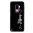 Vertical Cursive Handwritten Samsung S9 Plus Glass Case