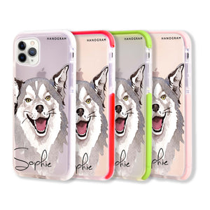 Border Collie Shockproof Bumper Case