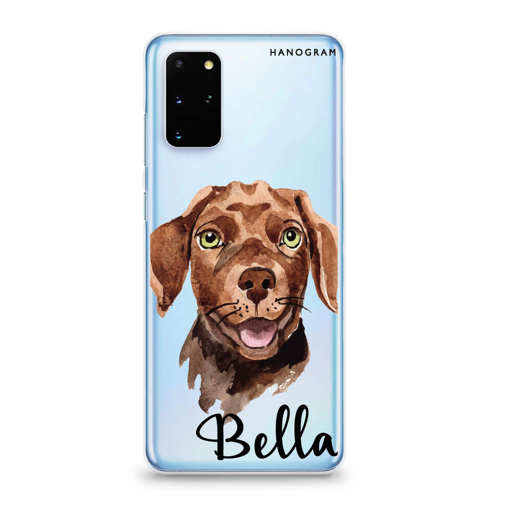 Dachshund Samsung S20 Plus Soft Clear Case