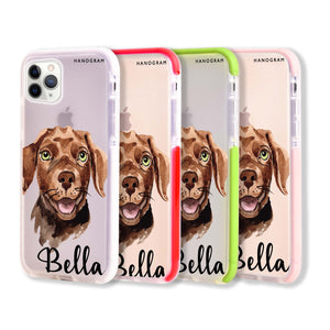 Dachshund Frosted Bumper Case