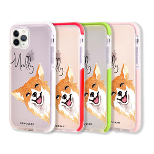 Welsh Corgi Frosted Bumper Case