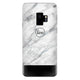 White Marble Transparent Samsung S9 Soft Clear Case