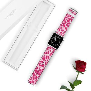 Pink Leopard APPLE WATCH BANDS