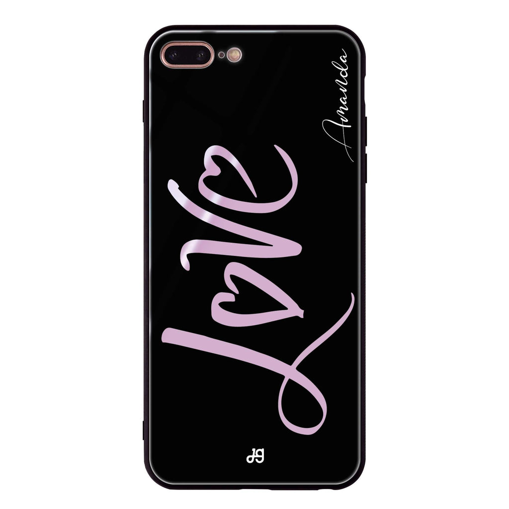 Love & Love iPhone 8 Plus Glass Case