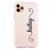 Vertical Cursive Handwritten Shockproof Bumper Case