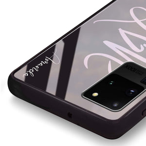 Love & Love Samsung Glass Case
