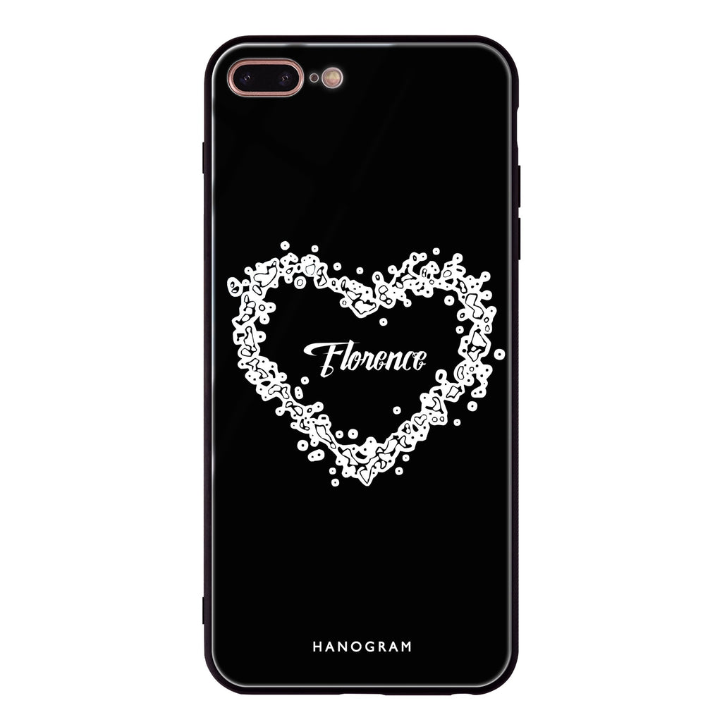 You Are In My Heart iPhone 8 Plus Glass Case