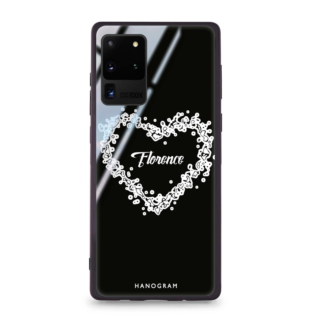 You Are In My Heart Samsung S20 Ultra Glass Case