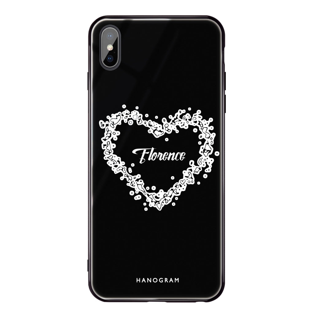 You Are In My Heart iPhone XS Max Glass Case