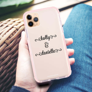 Our Cursive Handwritten Frosted Bumper Case