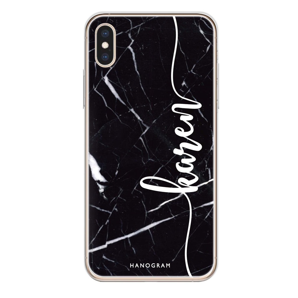 Marble Edition VIII iPhone XS Soft Clear Case