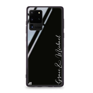 Handwritten You And Me Samsung Glass Case
