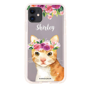 Think Positive Cat- iPhone X Case