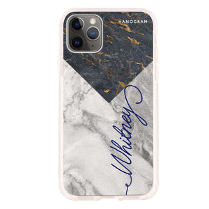 Mix Marble Frosted Bumper Case