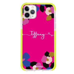 Floral POP II Shockproof Bumper Case