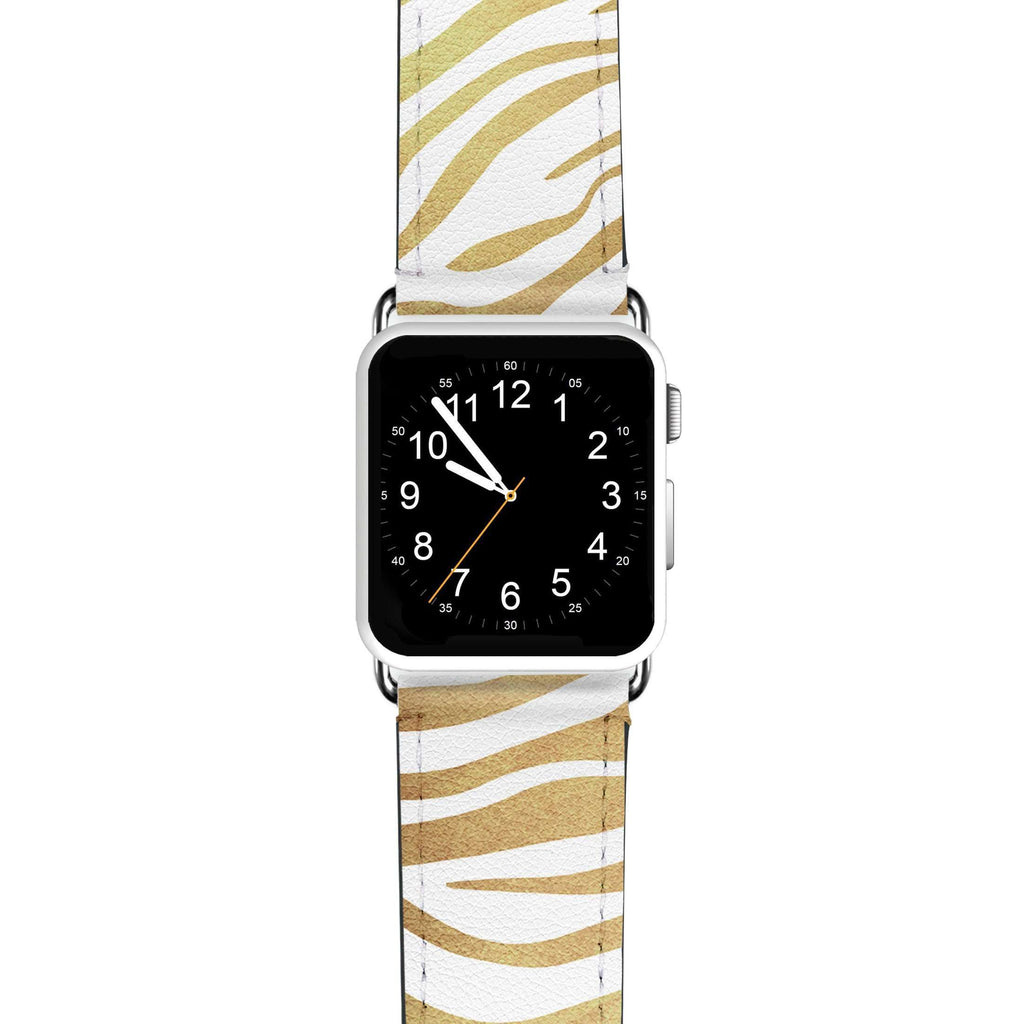 Golden Zebra APPLE WATCH BANDS