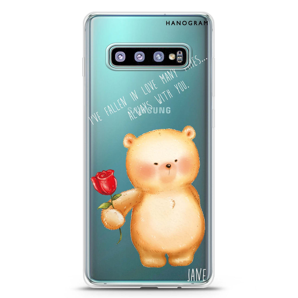 Rose For You Samsung S10 Plus Soft Clear Case