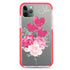 Sweet Heart With Rose Shockproof Bumper Case