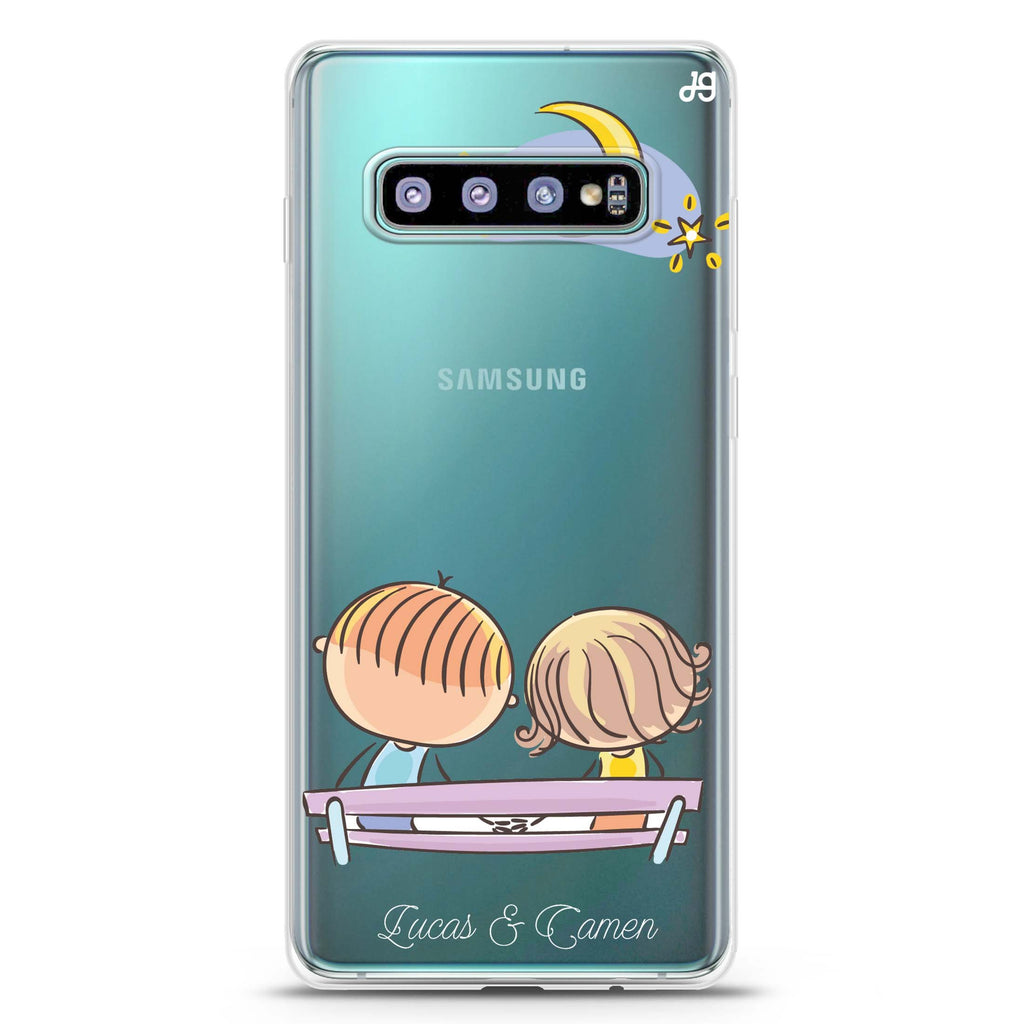 Stand By Me Samsung S10 Plus Soft Clear Case