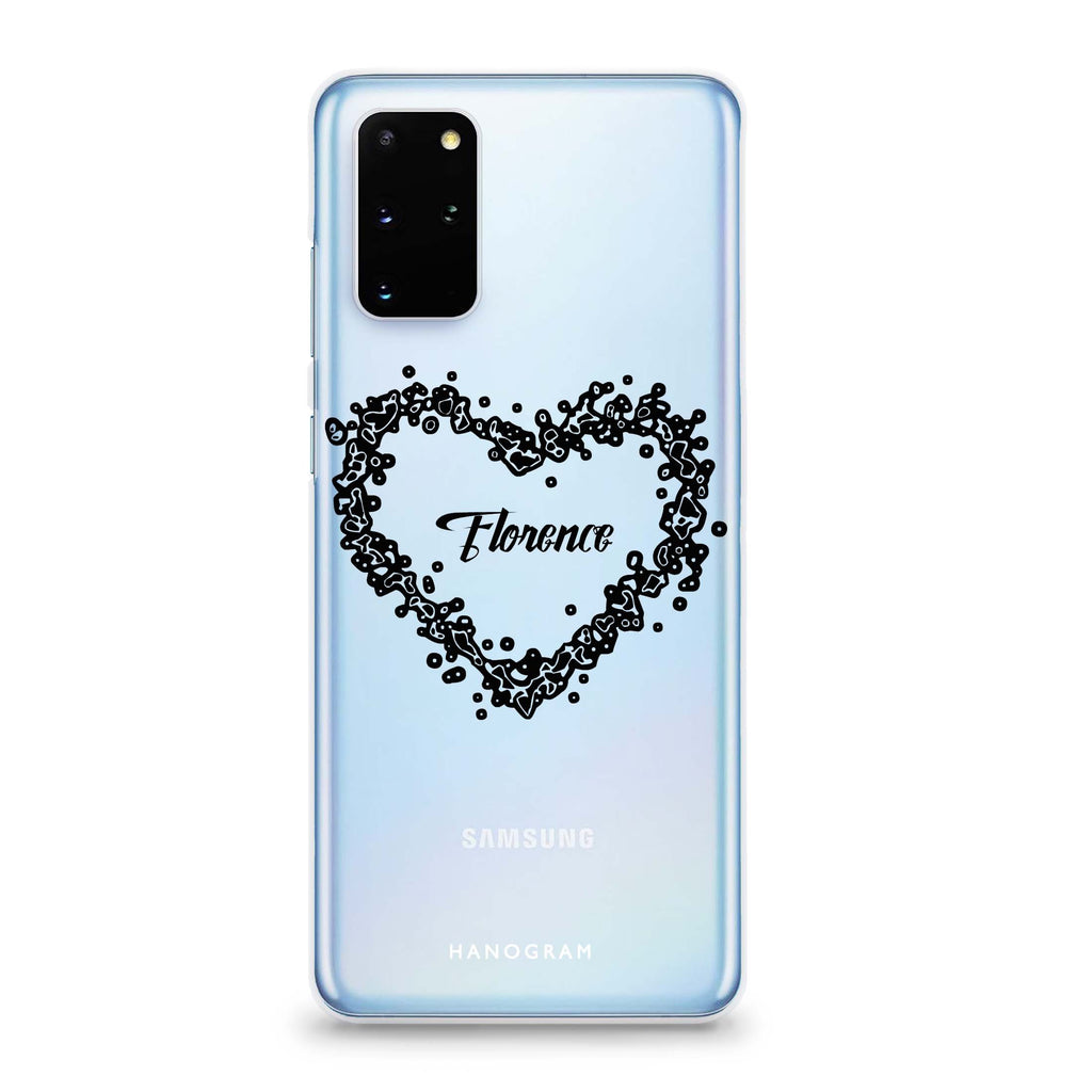 You Are In My Heart Samsung S20 Soft Clear Case
