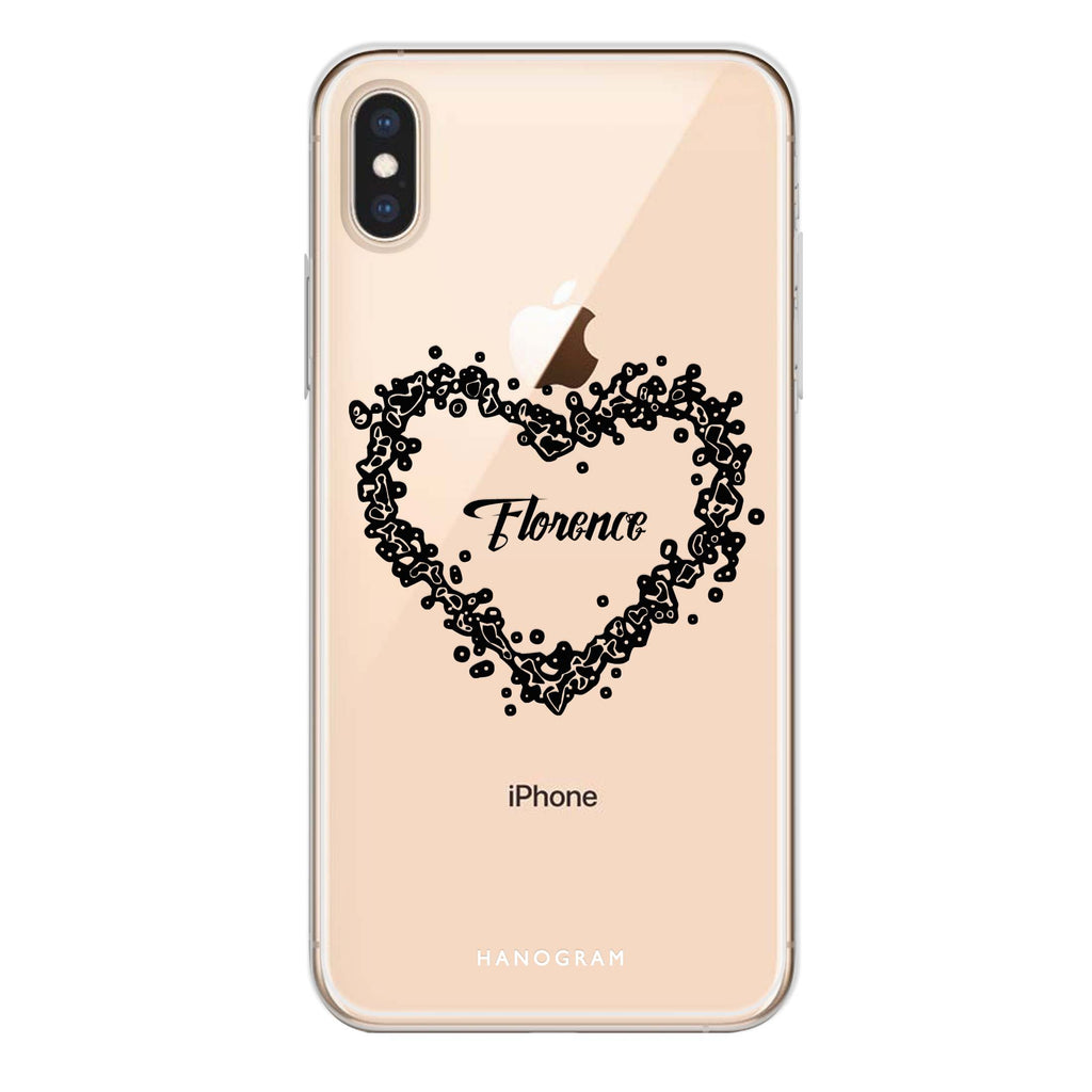 You Are In My Heart iPhone XS Max Soft Clear Case