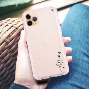 My Love Handwritten II Frosted Bumper Case